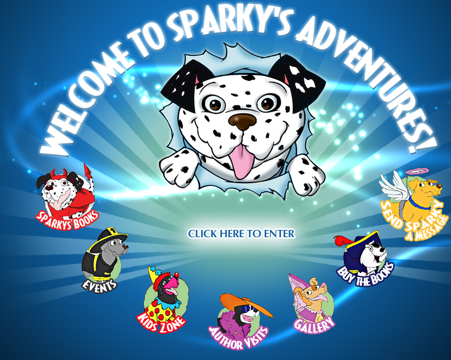 WELCOME TO SPARKY'S ADVENTURES!